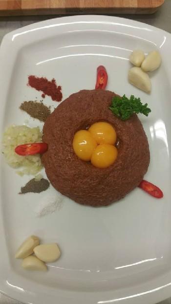 Tatarský bifter (tataráček) z naší kuchyně