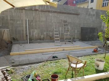Restaurace bude mít zahradu